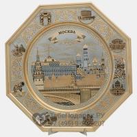 Блюдо подарочное Москва