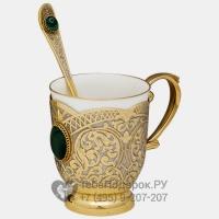 Чашка с ложкой Фантазия