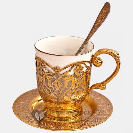 Чашка с ложкой Вояж