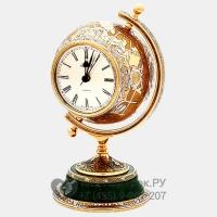 Часы-глобус