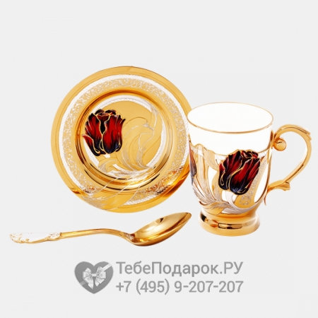 Набор кофейный Тюльпан