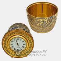 Матрешка-часы