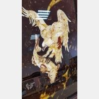Уникальная композиция Сокол на охоте