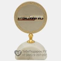 Медаль с логотипом на полусфере