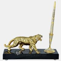 Набор настольный Тигр с ручкой