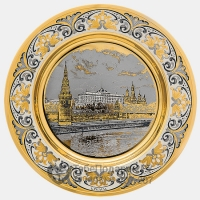 Блюдце Кремль