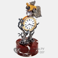 Часы настольные Золотая рыбка