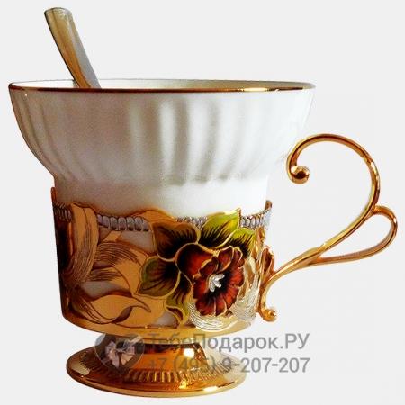 Набор кофейный Нарцисс