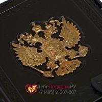 Ежедневник А5 Россия Златоглавая чёрный