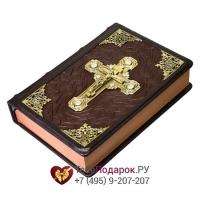 Библия - книга в кожаном переплете