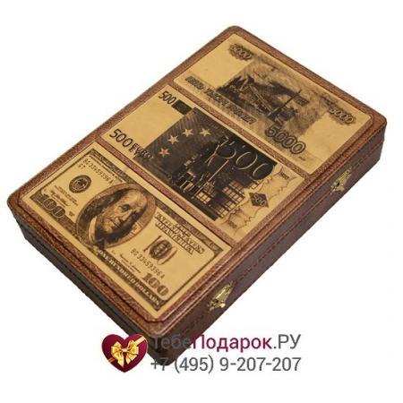 Шкатулка для денег Банкноты