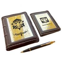Подарочный набор - Ежедневник, паспорт, Parker