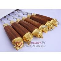 Набор шампуров Златоуст